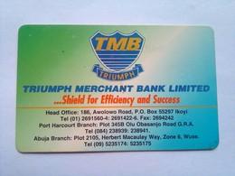 Triumph Merchant Bank 80 Units - Nigeria