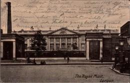 ! Alte Ansichtskarte The Royal Mint, London, 1905, Kgl. Münzprägestätte, Comptoir De Monnaies - 1902-1971 : Monnaies Post-Victoriennes