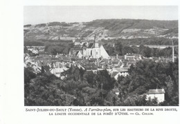 1952 - Héliogravure - Saint-Julien-du-Sault (Yonne) - Vue Générale - FRANCO DE PORT - Unclassified
