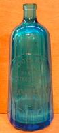 BOUTEILLE DE SIPHON EN VERRE SANS BOUCHON ENTREPOTS MANTAIS DES BIERES PETERSCHMITT GLOMET & Cie CARAFE TCHECOSLOVAQUIE - Other Bottles