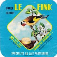 ETIQUETTE FROMAGE   PETIT CARRE DE L'EST - LE FINK  -  Fab En Lorraine - VOSGES 88-I - Cheese