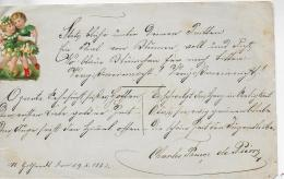 AK M 1  Alter Handgeschriebener Brief Ohne Kuvert  - St. Gothardt Am 29. 8. 1883 - Mitteilung