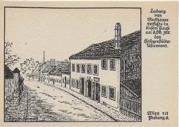 AK M 1  Wien ( Probusgasse & ) - Ludwig Van Beethoven-Haus / Verlag Kühne Um 1940-50 - Wien Mitte