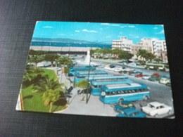 STORIA POSTALE  FRANCOBOLLO  ITALIA REPUBBLICA LIRE 15 REGGIO CALABRIA PULLMAN CORRIERE - Autobus & Pullman