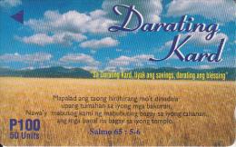PHILIPPINES(GPT) - Darating Kard, Eastern Telecom Telecard, CN : 326PETA, Used - Philippines