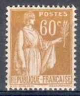 France - 1937/39 - Type Paix 60 C. Bistre - Y&T N°364 ** Neuf Luxe 1er Choix ( Gomme D'origine Intacte) - 1932-39 Paix