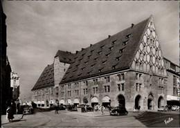 ! Foto Ansichtskarte Nürnberg Mauthalle, Autos, VW Käfer, SAS Reklame Am Haus Links - Passenger Cars