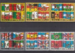Corea Del Norte Nº Michel A2248 Al A2253 - Corea Del Norte
