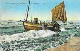 Promenades En Mer - Le Départ - Carte LL N° 2053 Colorisée, Non Circulée - Bateaux