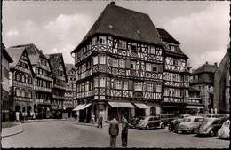 ! Foto Ansichtskarte Mosbach Am Neckar, Fachwerkhaus, Autos, VW Käfer, Voitures - Passenger Cars