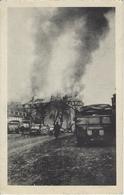 Bastogne.   -   La Flammes Dévorent Le Séminaire - Bastogne