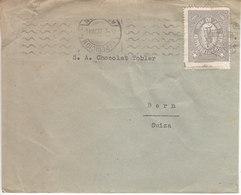 LETTRE POUR LA SUISSE - MAISON CHOCOLAT TOBLER A BERN - 1937 - Paraguay