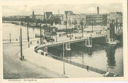 Amsterdam 1935; Berlagebrug - Gelopen. (uitgever?) - Amsterdam