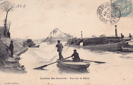 CONFLANS STE HONORINE - Vue Sur La Seine - Conflans Saint Honorine