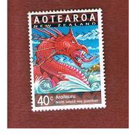 NUOVA ZELANDA (NEW ZEALAND) - SG 2311  -  2000 YEAR OF THE DRAGON: ARAITERURU -  USED° - New Zealand