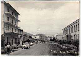 TORTOLI NUORO SARDEGNA CORSO UMBERTO I - CARTOLINA SPEDITA NEL 1965 - Otras Ciudades