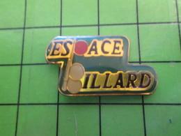 1218c Pin's Pins / Rare Et De Belle Qualité / SPORTS : BOULES ET QUEUE ? ESPACE BILLARD - Billiards