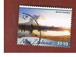 NUOVA ZELANDA (NEW ZEALAND) - SG 2338  -  2000 SCENIC REFLECTIONS: ERUPTION ON MOUNT RUAPEHU  -  USED° - Nuova Zelanda