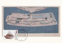 D34929 CARTE MAXIMUM CARD RR FD 2014 NETHERLANDS - ISLAND DESHIMA - NETHERLANDS-JAPAN - BAY NAGASAKI CP ORIGINAL - Aardrijkskunde
