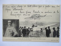 LA DERNIERE CARTE  DE PEGOUD   .........     TRES ANIME     TTB - Aviation