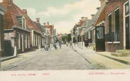 Holwerd; Dorpsstraat - Niet Gelopen. (Nauta, Velsen) - Autres