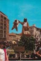 CARTOLINA DELLA SAGRA DEI MISTERI - CORPUS DOMINI CAMPOBASSO CON ANNULLO SPECIALE 1988 - Campobasso
