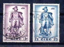 Irlande  /  N 126 Et 127 / Oblitérés - 1949-... Republic Of Ireland