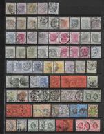 HONG KONG (CHINA) - COLLECTION Sur 2 PAGES + 1 PLAQUETTE - TOUS ETATS AU DEBUT Puis TB   */OB - FORTE COTE - Hong Kong (...-1997)