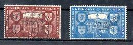 Irlande  /  N 110 Et 111 / Oblitérés - 1949-... République D'Irlande