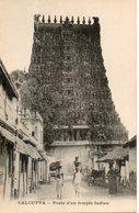 Inde. Calcutta. Porte D'un Temple Indien - Indien