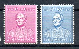 Irlande  /  N 124 Et 125 / NEUFS Avec Trace De Charnière - Nuevos