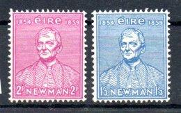 Irlande  /  N 124 Et 125 / NEUFS Avec Trace De Charnière - 1949-... Republic Of Ireland