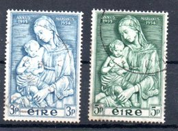Irlande  /  N 122 Et 123 / Oblitérés - 1949-... Republic Of Ireland