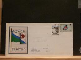 79/157  LETTRE LESOTHO - Vogels