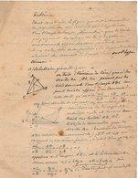 VP12.929 - MILITARIA - LA BAULE 1919 - Mr E. DATTIN Du Génie Militaire - Problème - Documents