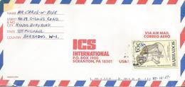 Barbados 1999 Bridgetown Green Monkey Cover - Barbados (1966-...)
