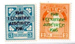 Irlande  /  N 93 Et 94 / NEUFS Avec Trace De Charnière - Neufs
