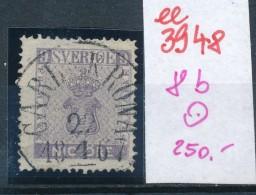 Schweden  Nr. 8 B   O (ee3948  ) Aus Auflösung Einer Spezial Sammlung - Oblitérés