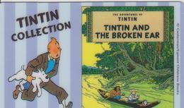 PHONECARD TINTIN AND THE BROKEN EAR 20 UNITS - BD