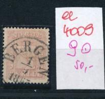 Norge Nr. 9  O     (ee4009  ) Aus Auflösung Einer Spezial Sammlung - Used Stamps