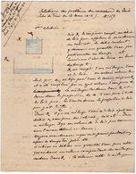 VP12.930 - MILITARIA - PARIS 1916  ? - Mr E. DATTIN Du Génie Militaire - Solution Du Problème Du Marchand De LAIT - Documents