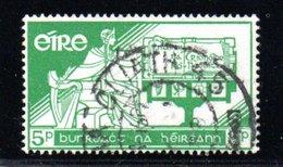 Irlande  /  N 141 / 5 P Vert / Oblitéré - 1949-... République D'Irlande