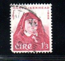 Irlande  /  N 139 / 1/3 Rose / Oblitéré - 1949-... Republic Of Ireland