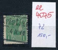 Norge Nr. 72  O     (ee4075  ) Aus Auflösung Einer Spezial Sammlung - Gebraucht
