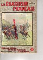 REVUE CHASSEUR FRANCAIS- CHASSE PECHE CYCLISME CYCLOMOTEUR-EUGENE PECHAUBES-COURSES CHANTILLY-1949-VELO MANUFRANCE - Fischen + Jagen