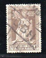 Irlande  /  N 115 / 9 P Brun  / Oblitéré - 1949-... République D'Irlande