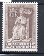 Irlande  /  N 115 / 9 P Brun  / NEUF Avec Trace De Charnière - Neufs