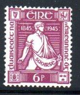 Irlande  /  N 103 / 6 P Lilas / NEUF Avec Trace De Charnière - Neufs