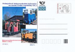 Rep. Ceca / Cart. Postali (Pre2012/27) Ferroviaria Industriale A Scartamento Ridotto. Museo Della Ferrovia Industriale - Altri