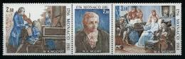"Monaco YT 1272A Triptyque ""  Mozart "" 1981 Neuf** - Monaco"